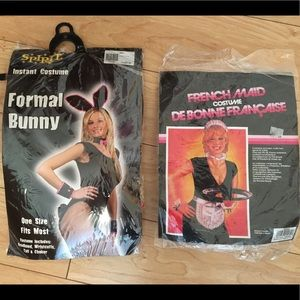 Other - 🎃 Costume Accessory Bundle - Bunny & French Maid